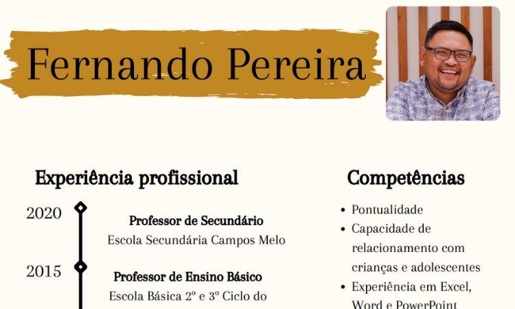 CV exemplo pdf 4